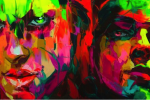 Portret malowany przez parę